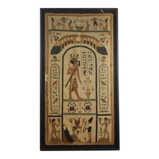 Ancient Egyptian Tomb-Cloth Fragment For Sale