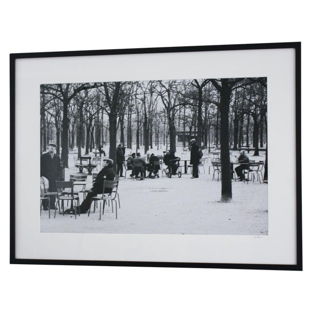 """Old Men of Paris"" Original Framed Photo For Sale"