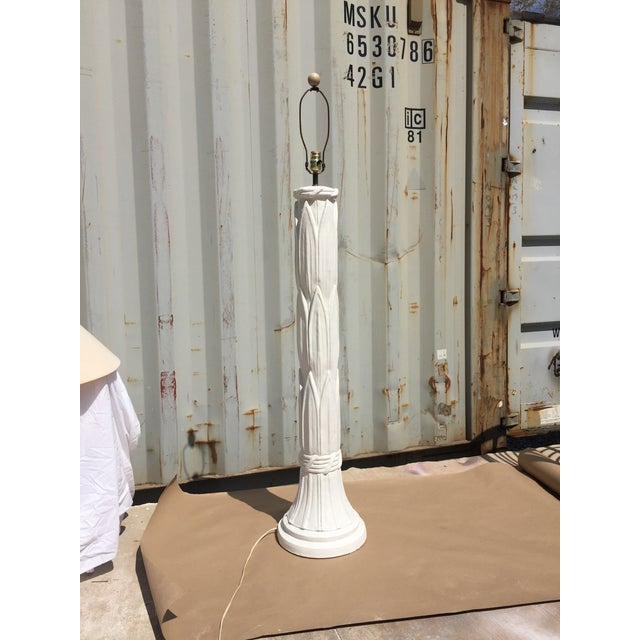 Serge Roche Serge Roache Style Plaster Floor Lamp For Sale - Image 4 of 7