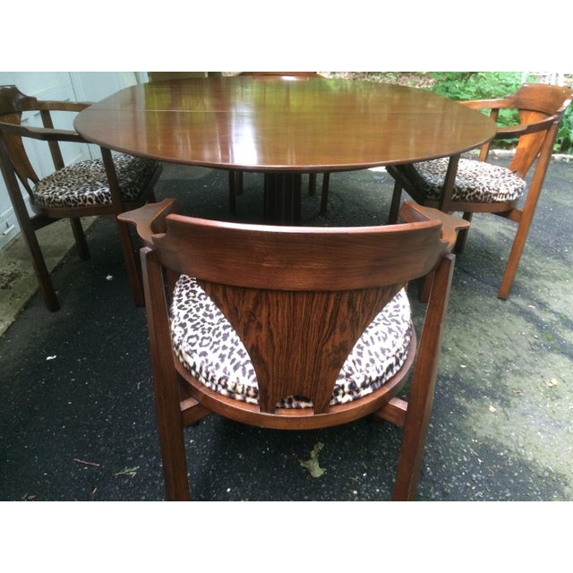 Edward Wormley for Dunbar Rosewood Dining Set For Sale - Image 5 of 11