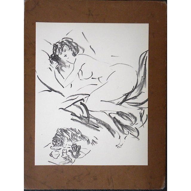Vintage Mid 20th C. Ltd. Ed. Lithograph-Marcel Vertes c.1961 - Image 4 of 4