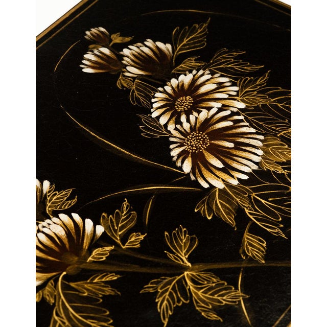 """Contemporary Lawrence & Scott Black Thrive Leather Box (17"""") For Sale - Image 3 of 4"""