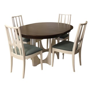 1960s Mid Century Modern Broyhill Brasilia Dining Set - 6 Pieces For Sale