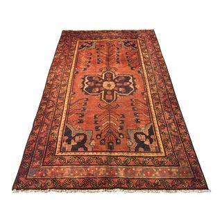 Vintage Persian Rug- 4′1″ × 7′ For Sale
