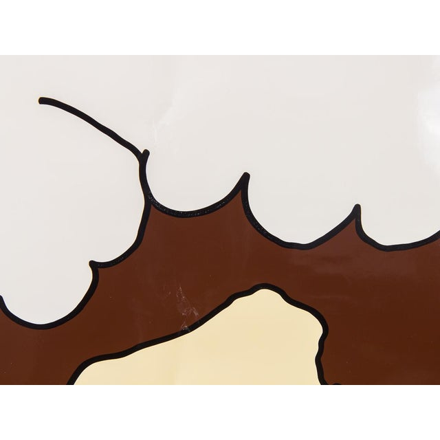 """Abstract """"Herman Miller Summer Picnic"""" Ice Cream Sundae Poster For Sale - Image 3 of 7"""