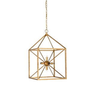 Wildwood Portsmith Chandelier in Gold For Sale