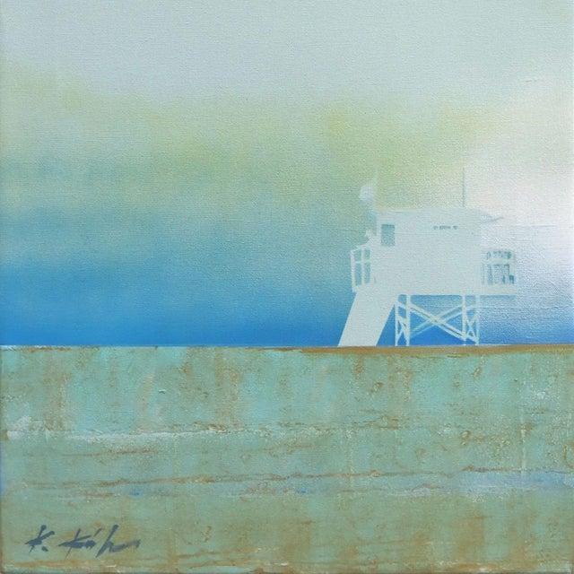 "2010s ""Dissipating Silence"" Original Artwork by Kathleen Keifer For Sale - Image 5 of 9"