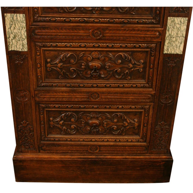 Antique French Renaissance-Style Chest of Drawers - Image 5 of 8
