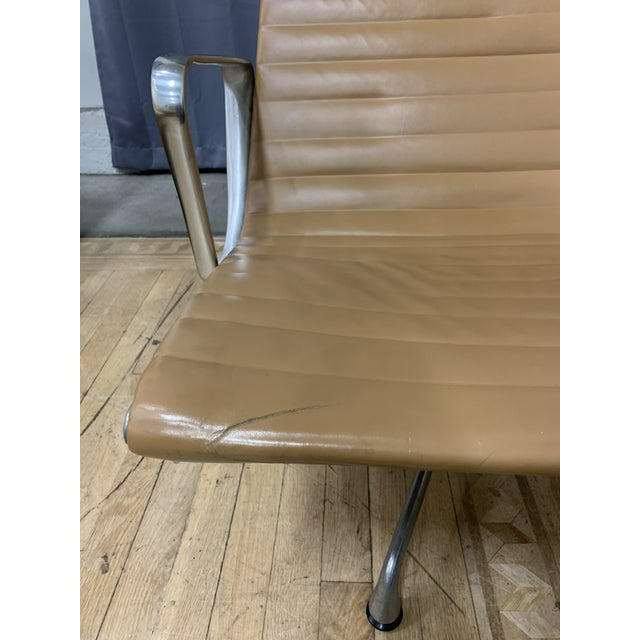 Mid-20th Century Eames Aluminum Group Lounge Chair For Sale - Image 9 of 12