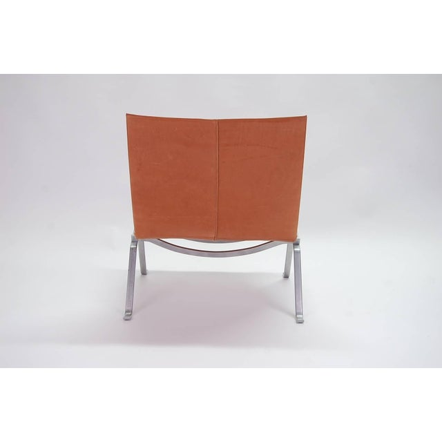 1960s Vintage Early Poul Kjaerholm Pk22 Lounge Chair For Sale In Providence - Image 6 of 8