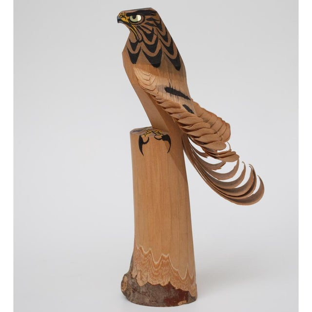 1960s Japanese Kokeshi Eagle Doll For Sale - Image 13 of 13