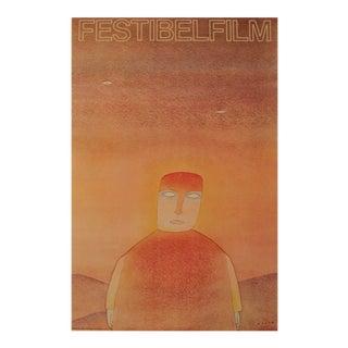 Original French Poster, Jean Michel Folon, Festibelfilm