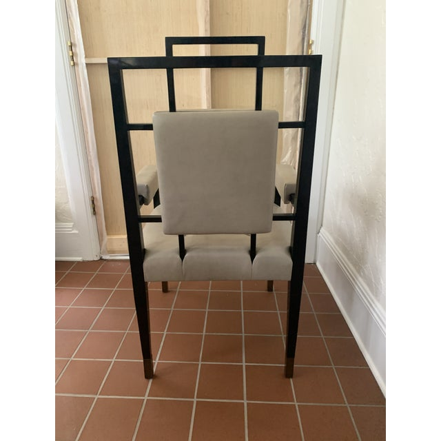 Metal Custom Lacquer Dining Chairs - Set of 12 (Priced Individually) For Sale - Image 7 of 8