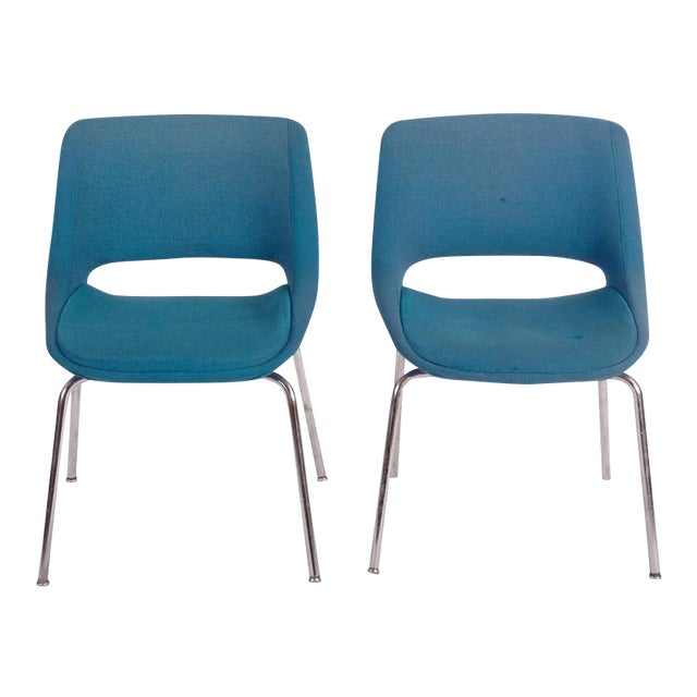 Mid-Century Chairs by Olli Mannermaa for Martela Oy - A Pair For Sale