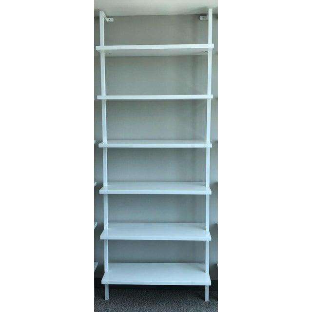 CB2 Contemporary Open Bookshelf For Sale
