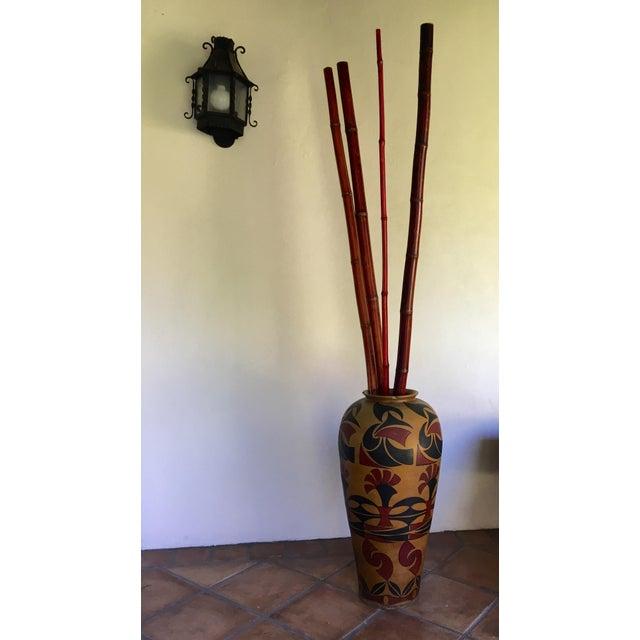 Ceramic Designer Floor Vase - Image 4 of 4