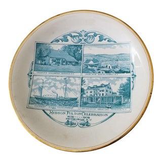 1909 Hudson Fulton Centennial Celebration Plate For Sale