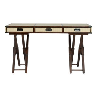 Campaign Style David Francis Writing Desk For Sale