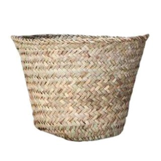Handwoven Moroccan Utility Basket For Sale