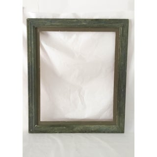 Antique Green Country Picture Frame Preview