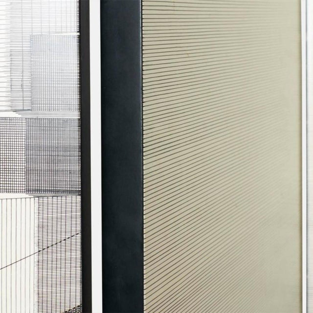 Modern Scaletta Folding Screen by Piero Fornasetti For Sale - Image 3 of 9