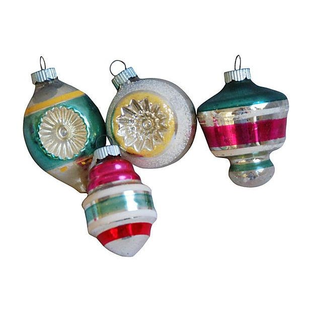 1950s Christmas Tree Ornaments - Set of 12 - Image 3 of 5