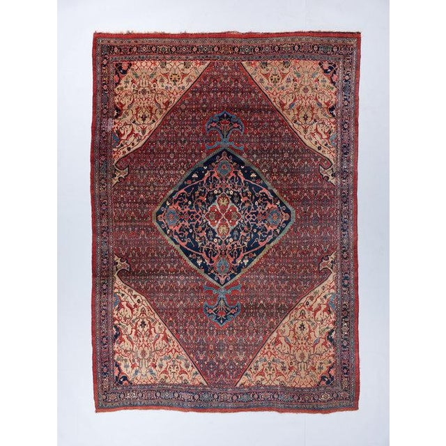 Mahi Design Bijar Carpet For Sale In Los Angeles - Image 6 of 6