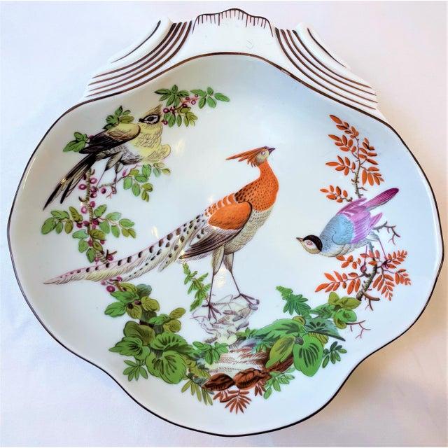 Vintage Mottahedeh Chelsea Bird Shell Bowl For Sale - Image 10 of 10