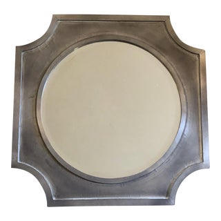Arteriors Painted Wood Mirror For Sale