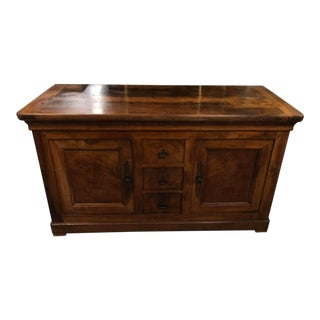19th Century French Louis Philippe Walnut Sideboard For Sale