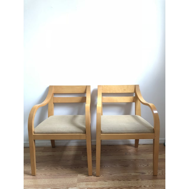 Vintage Bernhardt Bentwood Chairs - A Pair For Sale - Image 11 of 11