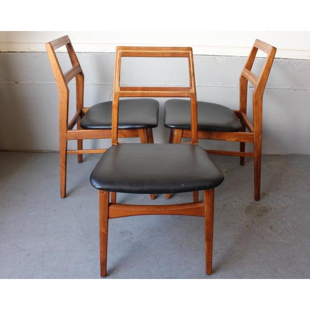 Mid-Century Danish Modern Foster-McDavid Furniture Inc. Chairs - Set of 3 - Image 2 of 11