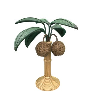 Mario Lopez Torres Palm Tree Lamp For Sale