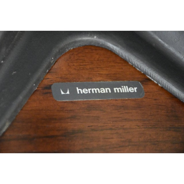 Original Herman Miller Eames Lounge Chair & Ottoman For Sale - Image 11 of 12