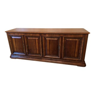 French Regency Wood Credenza Buffet For Sale