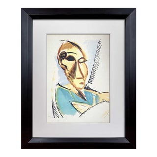 """Pablo Picasso Limited Edition Lithograph """"Study for Demoiselles D'Avignon""""   Signed For Sale"""
