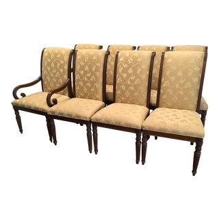 Hickory Chair Regency Style Dining Chairs - Set of 8 For Sale