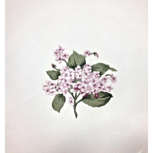 Cottage Botanical Ceramic Serving Bowl For Sale - Image 3 of 6
