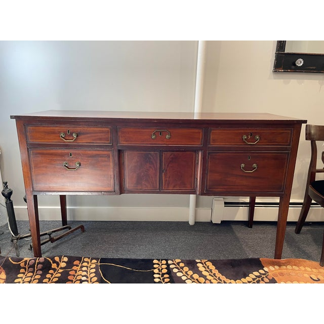 Brown Early 20th Century Cherry Sideboard For Sale - Image 8 of 8