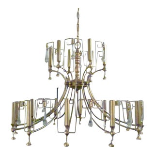 Artist's Mid-Century Chandelier For Sale