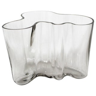 Early Savoy Glass by Alvar Aalto For Sale