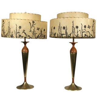 Pair of Tony Paul Table Lamps for Westwood Lighting For Sale