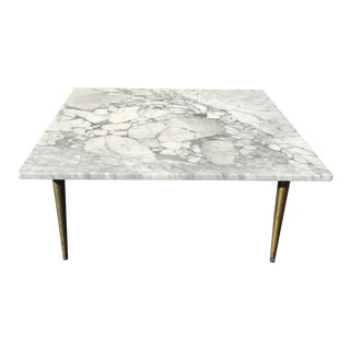 Mid-Century Italian Marble Coffee Table