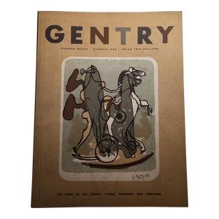 Vintage Gentry Magazine, Summer 1953 For Sale