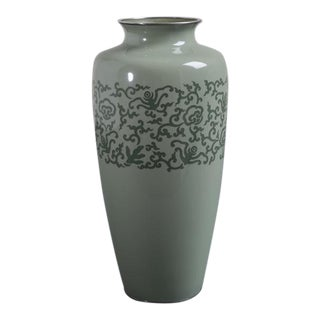 A Japanese Cloisonné Enamel Vase by Ando Circa 1920 For Sale