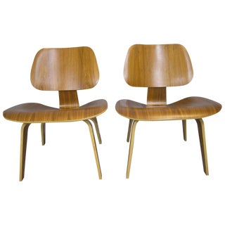 Charles and Ray Eames LCW Chairs - A Pair