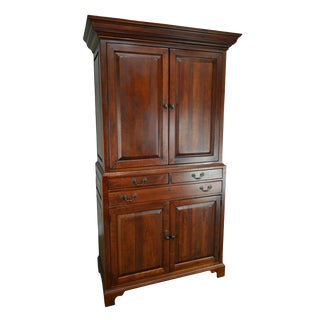 Lexington Bob Timberlake Large Cherry Tv Armoire Cabinet For Sale