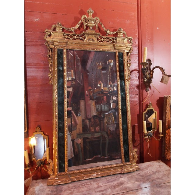 19th Century Italian Gilt Wood Mirror - Image 8 of 8