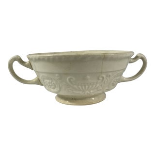 Antique Creamware Sugar Bowl For Sale