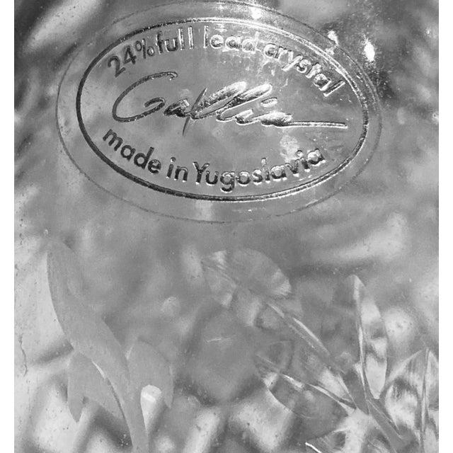 Vintage Rogaska Gallia Crystal Decanter (Yugoslavia). This was made in former Yugoslavia. The brand is actually Rogaska...
